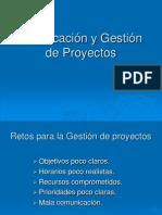 Planificación y Gestión de Proyectos