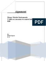 Assignment Money Markets