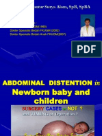Abdominal Distention In