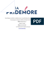 Pridemore congressional announcement