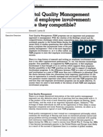 TQM & Employee