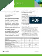 VMware View vs Citrix XenDesktop Datasheet