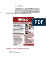 CLÍNICA ODONTOLÓGICA.doc