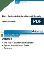 Unix Admin1