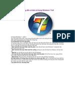 Hướng dẫn cơ bản sử dụng Windows 7 full