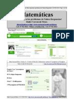 Matematicas (by Carrascal). Mis respuestas a problemas de Yahoo Respuestas!
