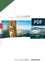 Le Monde d'Alstom 2007