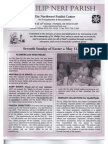 Bulletin for May 11-12-2013