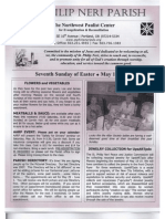 Bulletin for May 11-12-2013