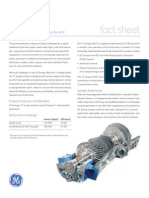 7F Syngas Turbine - Fact Sheet