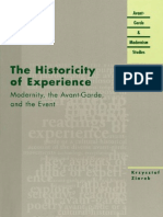 (Avant-Garde &Amp_ Modernism Studies ) Krzysztof Ziarek 