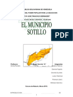 Trabajo Del Municipio Sotillo