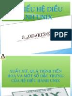 TÌM HIỂU HỆ DIỀU HÀNH UNIX