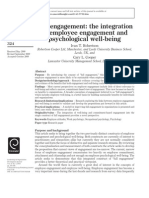 Full Engagement - The Integration of Employee Engagement and Psychological Well-being