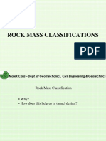 Geotech - Rockmass Class