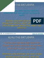 KUALITAS BATUBARA