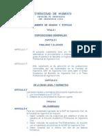 Reglamento de Grados y Títulos-Civil