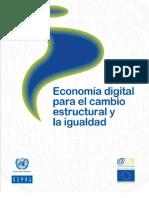 Economía Digital para el Cambio Estructural y la Igualdad