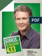 Campanha Sirkis Senador - Manual de Identidade Visual