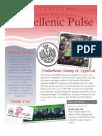 Panhellenic Pulse - April 2013