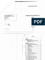 Semiologie Medicala (George Ioan Pandele) Vol 1 - 2001