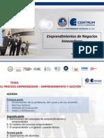 Emprendimiento de Negocios Innovadores CPP (Cusco IX) Sesiones 1 y 2