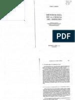 Metodologia de La Ciencia Del Derecho