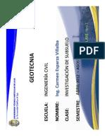 Clase 1-2012-03 Investigacion Subsuelo