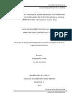 ELABORACIÓN Y EVALUACIÓN DE UNA SALCHICHA TIPO FRANKFURT