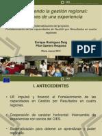 2012-03 Fortaleciendo La Gestion de Gobiernos Regionales