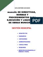 Manual de Liquidacion de Obras Publicas