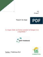Stage Bnp Paribas