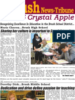 2012-13 Crystal Apple by the Brush News-Tribune