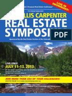 31st Annual Willis Carpenter Real Estate Symposium