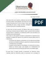 Gobierno Propio Interculturalidad y Autonom a Territorial