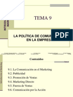 TEMA 9 Marketing