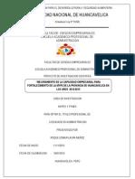 AÑO DE LA INVERSION PARA EL DESARROLLO RURALY SEGURIDAD ALIMENTARIA