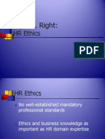 Human Resource Ethics - Power Point Presentation[1]
