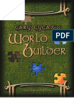 Gary Gygax's World Builder