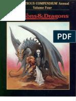 TSR 2173 Monstrous Compendium Annual Volume 4