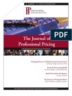 Journal of Professional Pricing q4 2008
