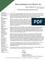 Campaign Letter 5-9-13 Sandy Signature