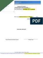 1 Formato Proyecto Inicial - Servicio Comunitario