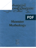AD&D the Complete Monster Mythology