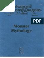 AD&D the Complete Monster Mythology