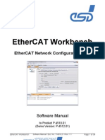 EtherCAT Workbench Manual