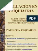 Clase 4. EvaluacionPsiquiatria[1]
