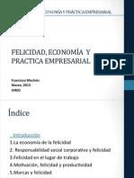Felicidad, Economía y Práctica Empresarial