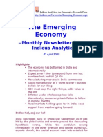 Emerging Economy April 2009 Indicus Analytics