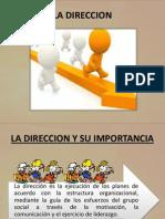 Direccion Exposicion